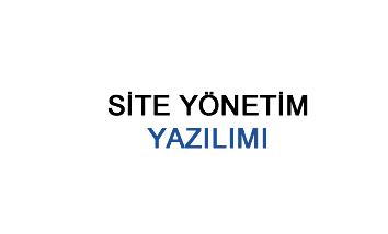 Site Yönetim Yazılımı